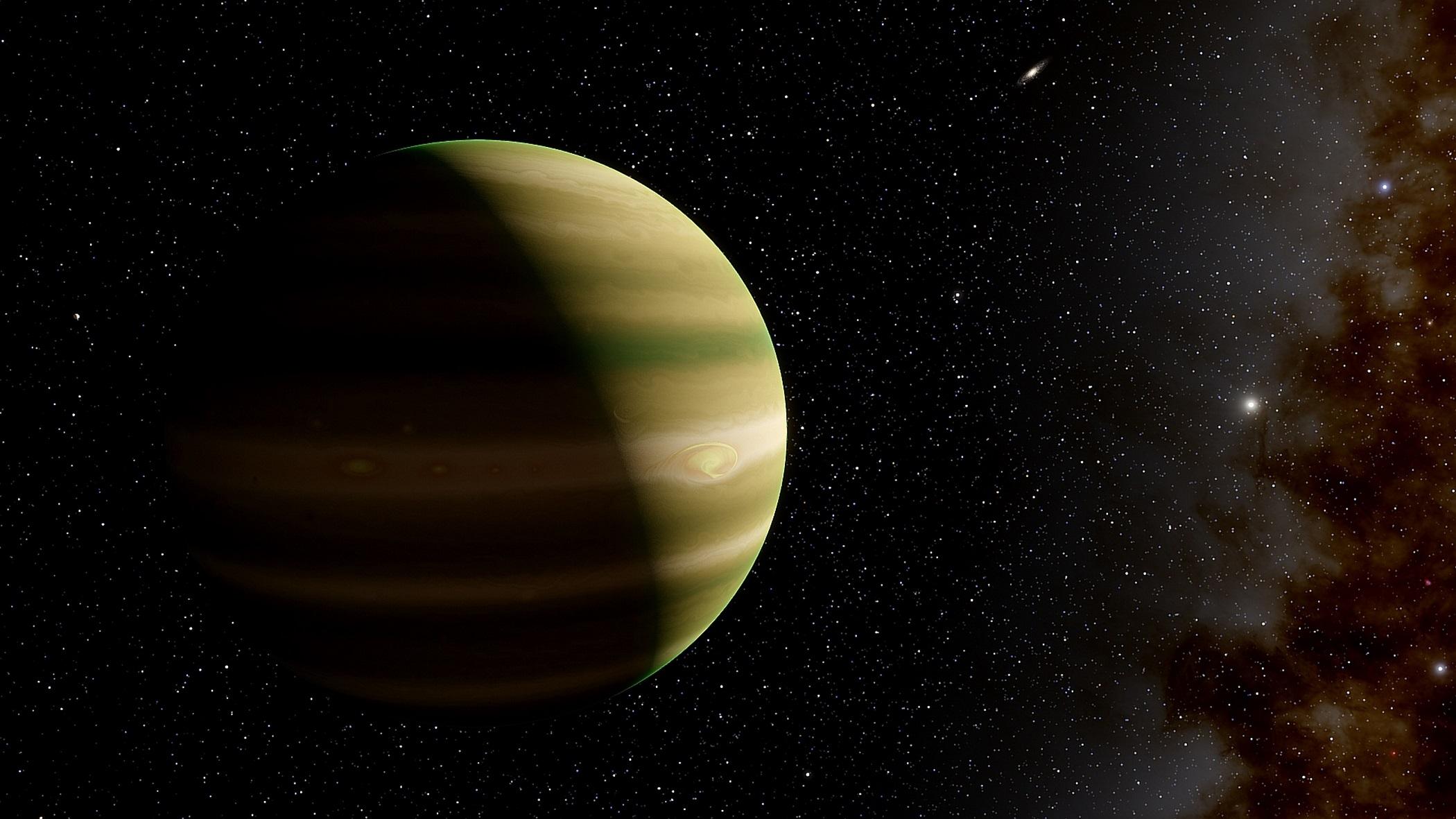 新發現:孤獨類地行星游弋銀河系