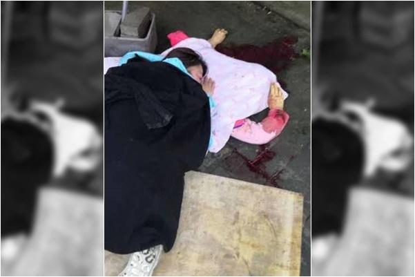 10月1日,北京市海淀區溫泉鎮太舟塢村一名60多歲的老婦因房屋被強拆9年的問題未得到解決而絕望跳樓身亡。(網絡圖片)