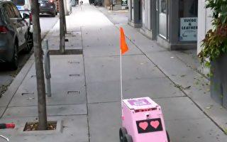 慢慢悠悠 多伦多送餐机器人上路了