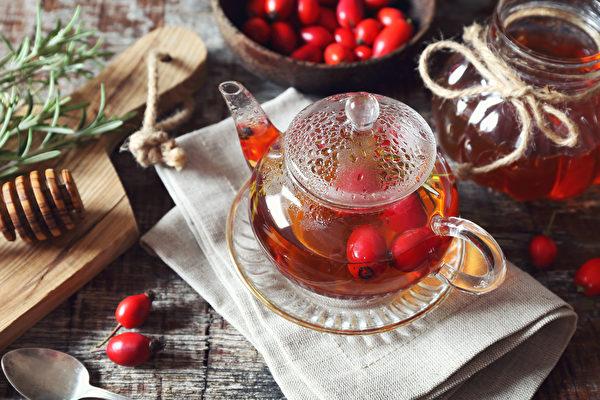 花草茶, 玫瑰果