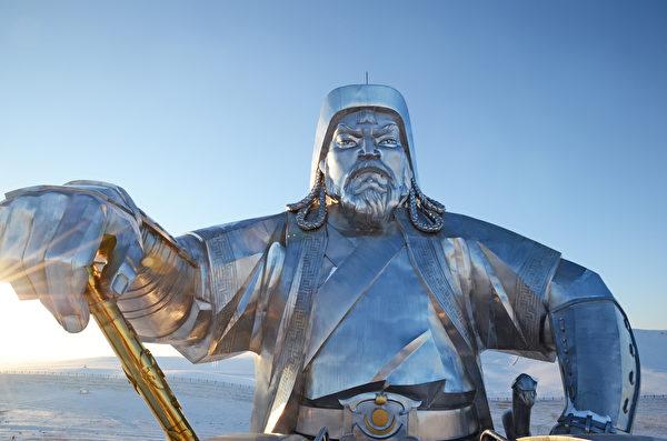 成吉思汗雕像