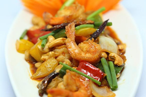 蝦子, 冷凍蝦, 沙拉, 麵包, 漢堡, 米飯, 腰果