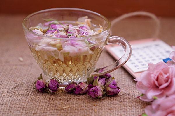 花草茶, 玫瑰果, 玫瑰花茶