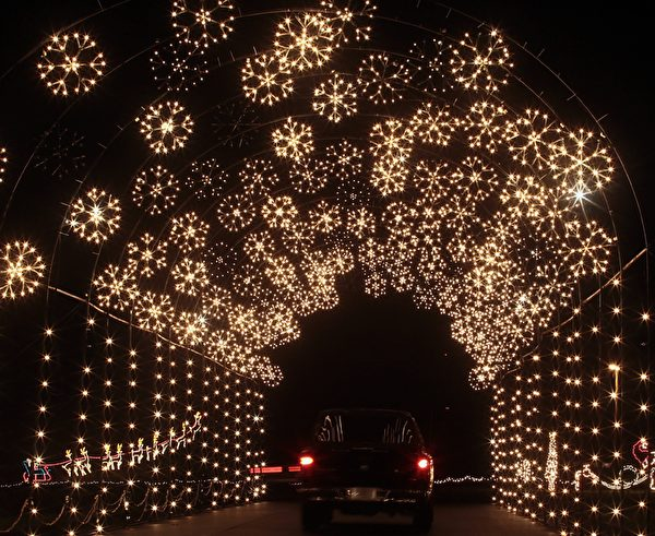 south jersey 節日燈景