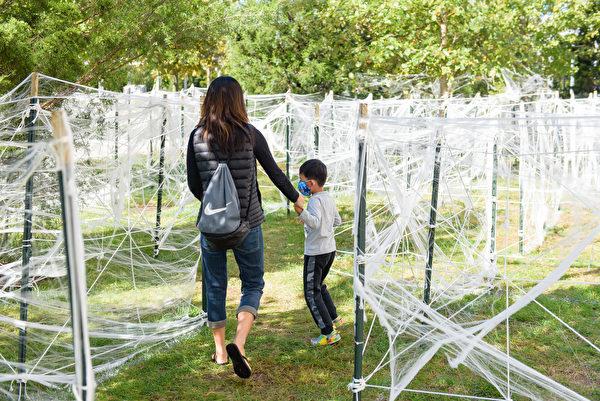 Spider maze 自由科技館