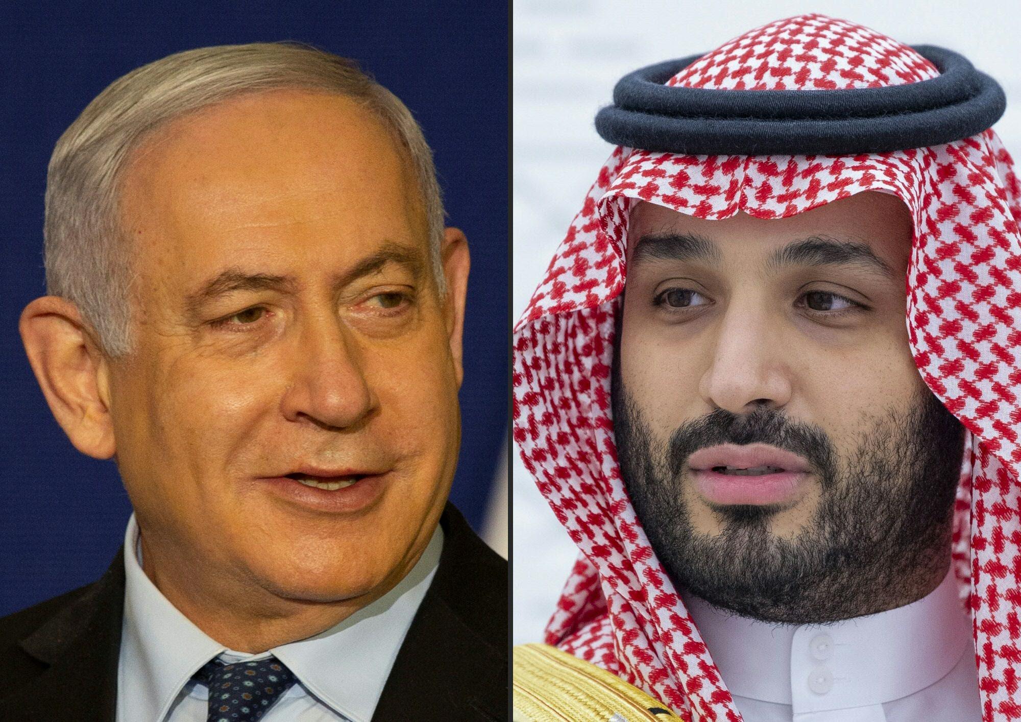 蓬佩奧中東促和平 以色列總理首晤沙特王儲