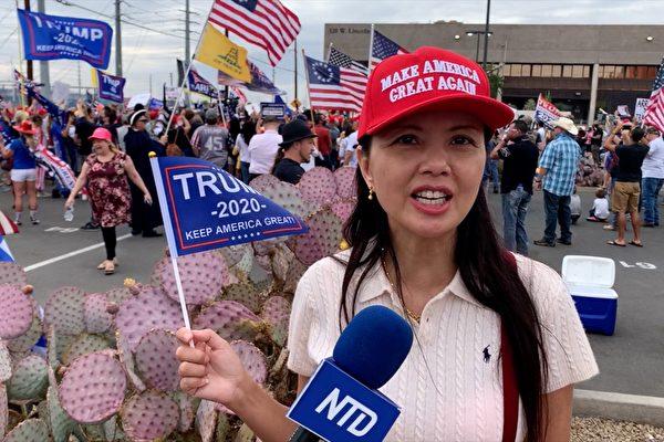 凤凰城华裔选民:为美国坚持奋战