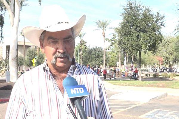 第五代牛仔挺川普:願騎馬追隨他至天涯海角