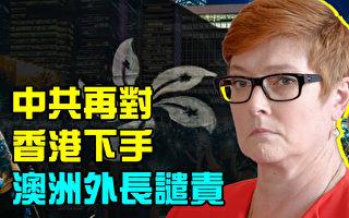 【澳洲新聞熱點11.12】中共再對香港下手 澳洲外長譴責