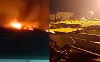 【视频】河北无极县一工厂爆炸 7死1伤