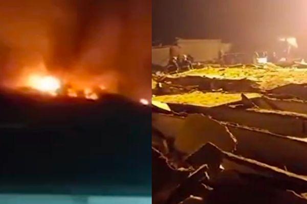 【視頻】河北無極縣一工廠爆炸 7死1傷