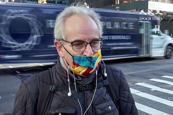 大選隔日結果未出 紐約客平常心對待