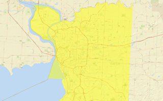 部分地区疫情反弹 纽约州府更新疫情地图