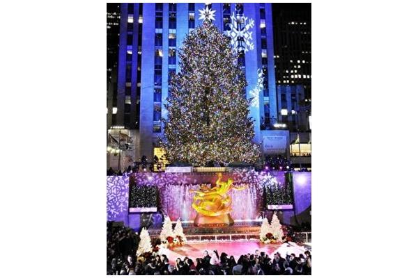 洛克菲勒中心圣诞树正式入选
