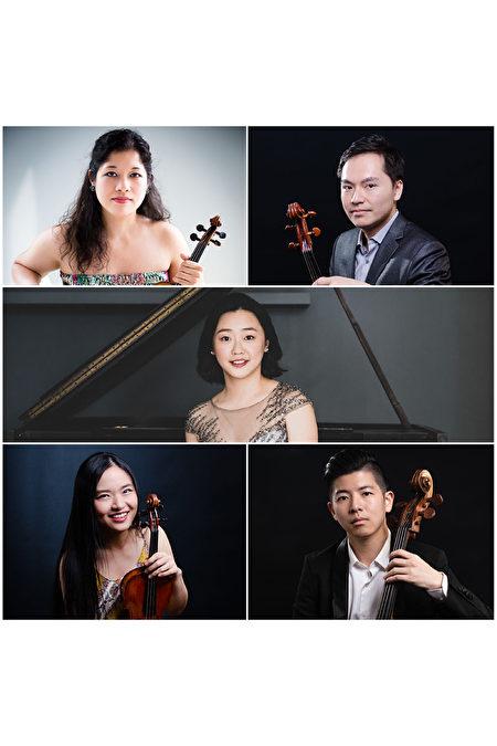 《赞颂》由中提琴家林维洋、大提琴家陈南呈、小提琴家吴天心、小提琴家Emilie-Anne Gendron以及钢琴家董菲菲同台演出。