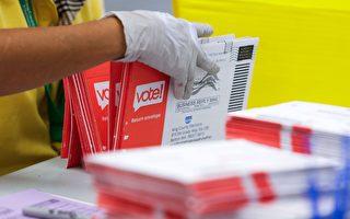 計算「郵寄選票」後反超 監察員:應停點郵寄選票