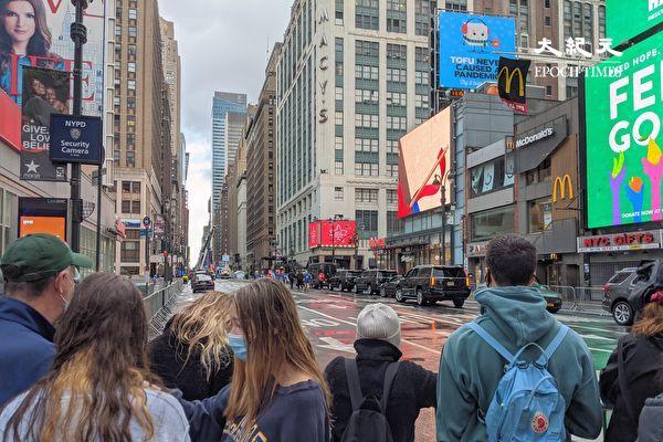 """纽约感恩节""""梅西游行""""直播气氛淡  现场观看受阻"""