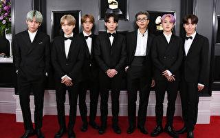 BTS首度入圍葛萊美獎 韓國K-POP歌手第一人