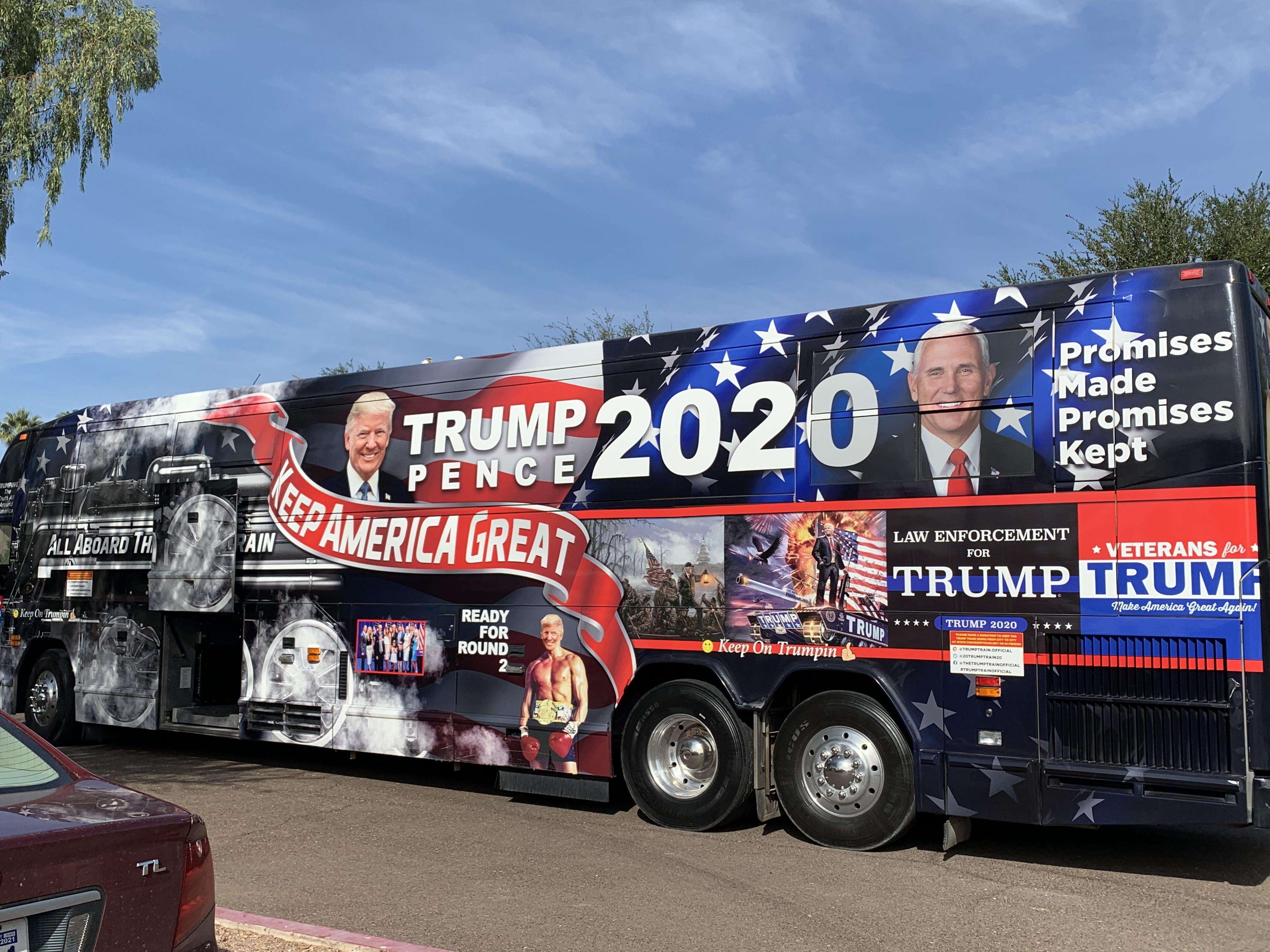 打造百萬「特朗普列車」 車主:支持偉大總統