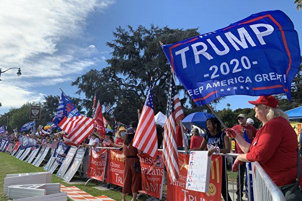 加州选民准备好庆祝川普大胜