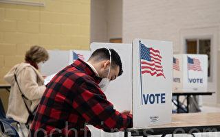 維州大選現場:無需排隊 8分鐘完成投票