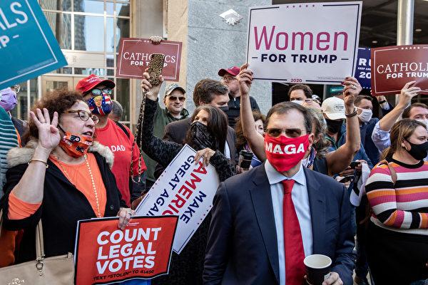 美联邦选举委员会主席:选举欺诈正在发生