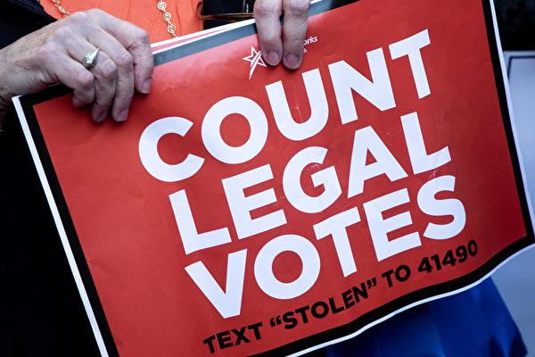 美高院颁令 要宾州分开投票日后寄达选票