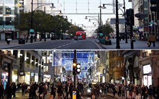 組圖:英國二次封鎖 倫敦再現「空城」
