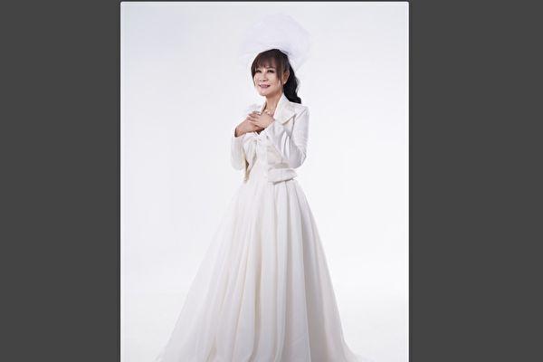 龍千玉推新歌《出嫁》 披白紗唱出少女心