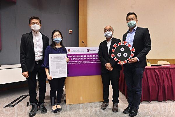 香港中大研究指娱乐场所传播中共病毒较严重