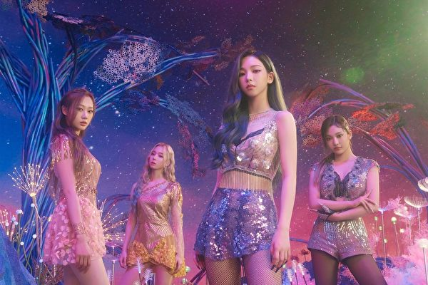 aespa出道作打入告示牌四榜单 创K-POP新纪录