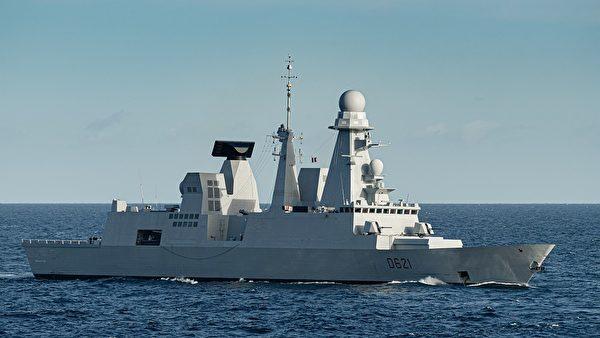 法国的地平线级驱逐舰骑士保罗号。(法国海军)