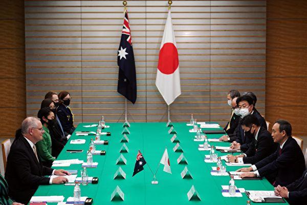 日本大使:我们同处一条船 澳日美联手抗共