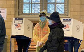 纽约市共234万人投票 华裔选民投票踊跃