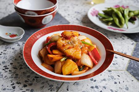辣味糖醋魚片。