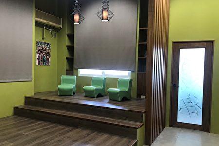 缅栀花多元文化视听室。