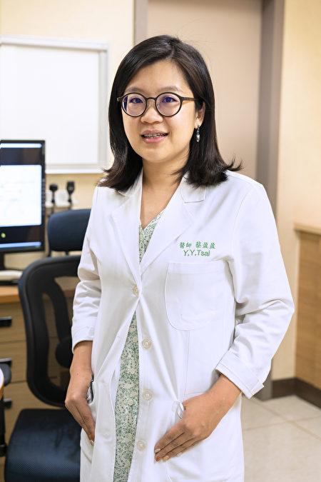 嘉義長庚醫院中醫師蔡盈盈。