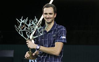 梅德維夫逆轉德國新星 巴黎名人賽奪冠