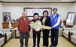 李楊絨女士捐贈消防警備車 完成弟弟遺願