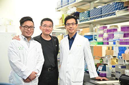 清大醫工所教授鄭兆珉(中)指導醫師完成跨領域研究。