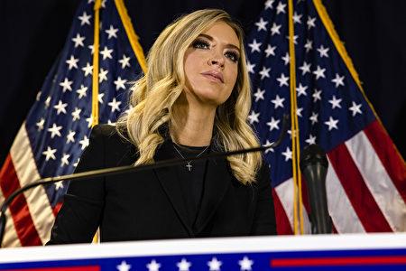 白宫新闻秘书麦肯阿尼(Kayleigh McEnany)。