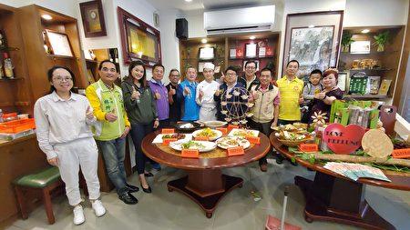 """七堵玛东社区""""玛陵好物、暖暖入菜""""活动。"""