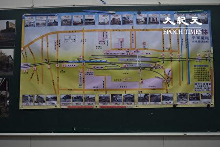 刚出炉的员林铁道地景图。