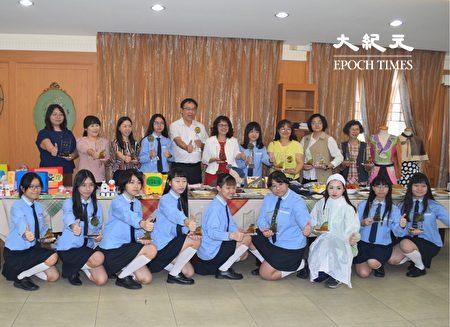 員林家商獲獎的學生。