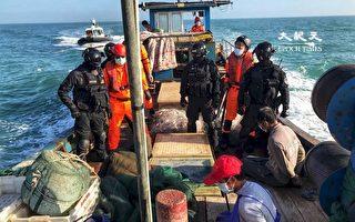 覬覦金門海域黃魚 台海巡查獲越界陸籍1船3人