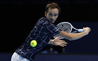 擊退德約科維奇 梅迪維夫獲ATP分組第一