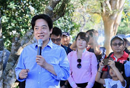 賴清德副總統呼籲全民要有健康促進與預防疾病的概念行動步道。