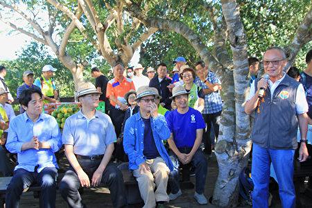 縣長徐耀昌感謝賴副總統是位傾聽民意與造福民祉的官員,也感謝客委會的支持。