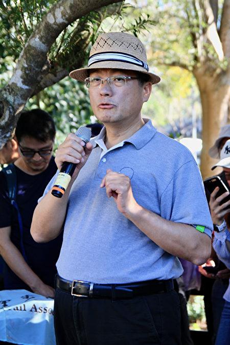 客委會主委楊長鎮表示,感謝千里步道協會推行古步道的探查,同時建立手工步道結合歷史人文環境。