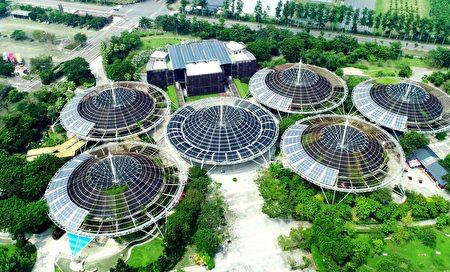 2020碳揭露計畫,全球A等級指標城市的88個名單中,屏東縣是台灣六都以外,唯一獲得A等級「具領導力」城市的殊榮。圖為:六堆客家文化園區。